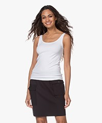 Wolford Jamaika Stretch-Jersey Tank Top - Wit