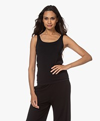 Wolford Jamaika Round Neck Top - Black