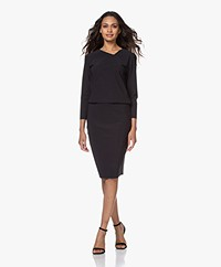 studio .ruig Joelle Tech Jersey Dress - Black