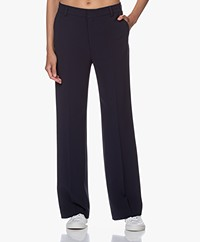 Filippa K Hutton Crêpe Pantalon - Navy