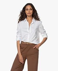 Filippa K Jane Organic Cotton Poplin Shirt - White