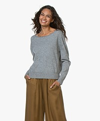 Closed Cashmere Sweater - Grey Heater Melange
