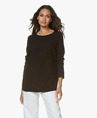 Drykorn Maila Virgin Wool Sweater - Black