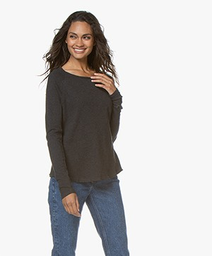 American Vintage Sonoma Sweatshirt - Antraciet Mêlee