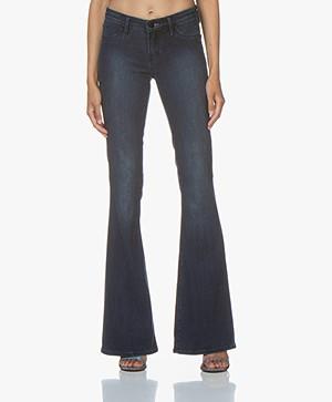 Denham Farrah Flare Fit Jeans - Blue