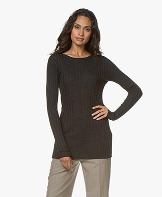 Filippa K Daria Sweater - Donkergrijs