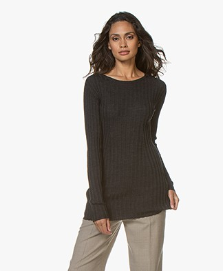 Filippa K Daria Sweater - Dark Grey