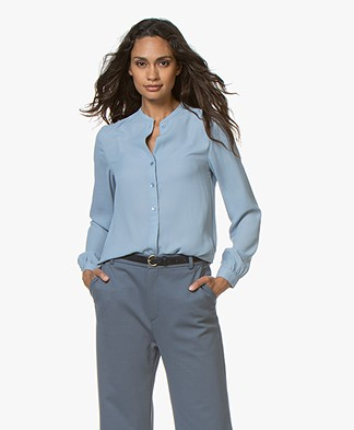Filippa K Adele Blouse - Frosty Blue