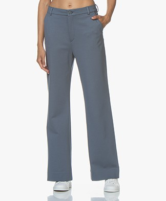 Filippa K Ivy Jersey Pantalon - Blue Grey
