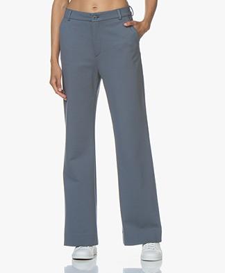 Filippa K Ivy Jersey Pantalon - Blue Grey
