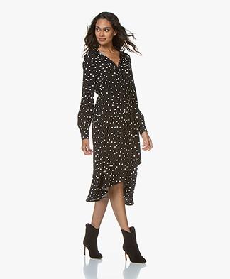 LaSalle Polkadot Print Midi Dress - Dots