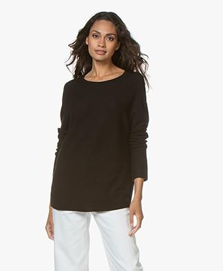 Drykorn Maila Wool Sweater - Black