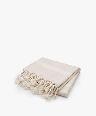 Filippa K Soft Sport Beach Towel - Dune/Off-white