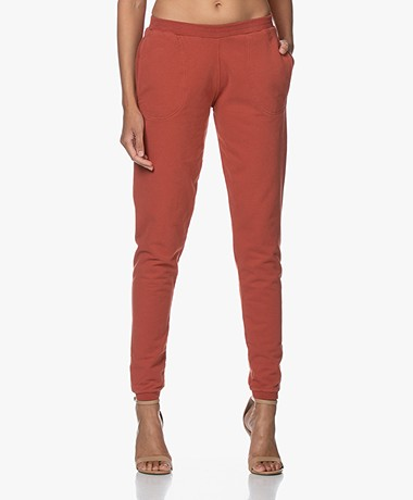 by-bar Jonas Washed French Terry Sweatpants - Chili