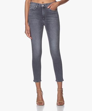 Rag & Bone Nina High-Rise Ankle Skinny Jeans - Sand River