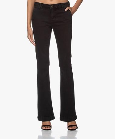 by-bar Leila Flared Jeans - Zwart