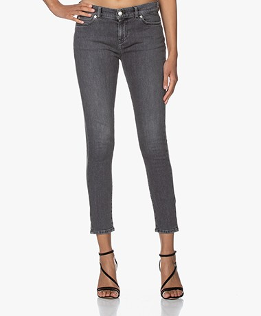 IRO Tober Cropped Skinny Jeans - Grey Washed