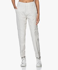 Zadig & Voltaire Pablos Crinkle Lambs Leather Pants - Judo