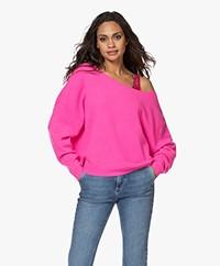 American Vintage Damsville Boat Neck Sweater - Pink