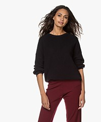 by-bar Milou T Ribbed Cotton Sweater - Midnight