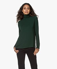 Majestic Filatures Superwashed Jersey Turtleneck Longsleeve - Scarabé