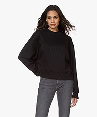Les Coyotes de Paris Riley Statement Sweater - Black