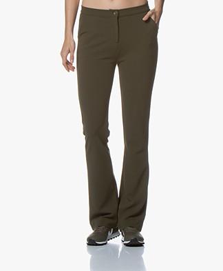 Kyra & Ko Faylinn Crêpe Jersey Pantalon - Army