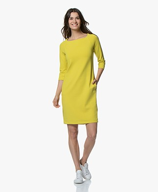Kyra & Ko Bells Crepe Jersey Dress - Lime