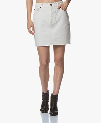 American Vintage Snopdog Denim Mini Skirt - Ecru