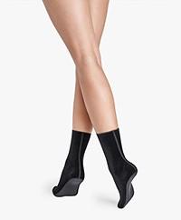 Wolford Blake Velvet Socks - Black