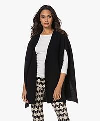 Wolford Neytiri Short Sleeve Open Cardigan - Black