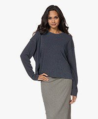 James Perse Relaxed Cropped Sweater - Dee