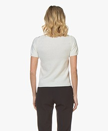 Resort Finest Lido Pullover with Round Neck - Off-White