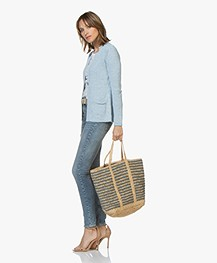 Vanessa Bruno Cabas Grand Shopper - Acier