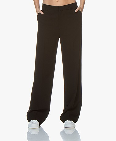 Filippa K Hutton Crepe Pants - Black