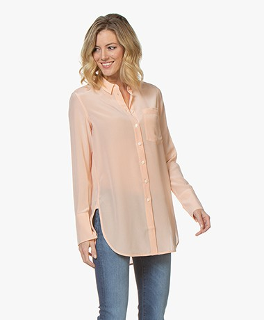 By Malene Birger Silk Shirt - Pink Sand