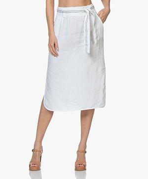 Josephine & Co Carlos Linen Skirt - White