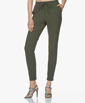 Josephine & Co Ray Travel Jersey Broek - Army