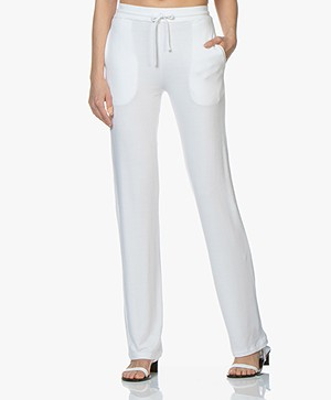 Majestic Filatures Viscose French Terry Sweatpants - White