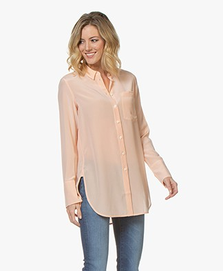 By Malene Birger Silk Shirt - Pink Sand