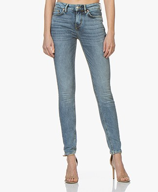 Drykorn Pull Skinny Jeans - Middenblauw