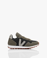 VEJA SDU Rec Vegan Sneakers - Black/Olive-Green