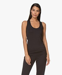 Hanro Modal Yoga Tank Top - Black