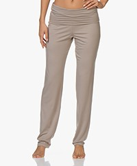 HANRO Modal Yoga Pants - Taupe