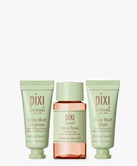 Pixi Best Of Bright Ornament Skin Cleansing Set - Travel size