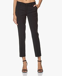 Filippa K Luisa Cropped Cool Wool Pantalon - Zwart