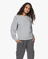 Rails Marcie Puff Sleeve Sweater - Heather Grey