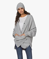 extreme cashmere N°34 Bon Cashmere Muts - Grijs
