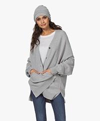 extreme cashmere N°34 Bon Cashmere Beanie - Grey