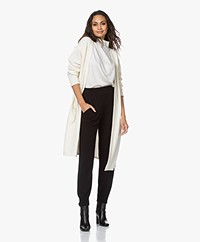 Resort Finest Maxime Long Open Cardigan - Ecru